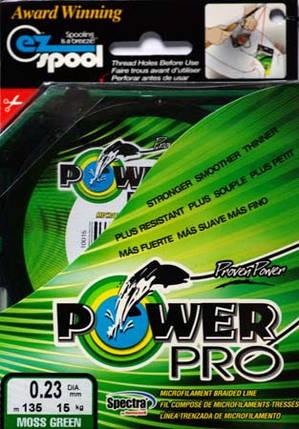 Шнур плетеный Power Pro с пропиткой  0,23mm 135m, фото 2