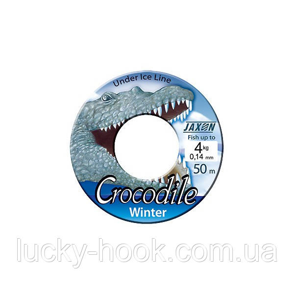 Леска Jaxon Crocodile Winter 50m 0,14