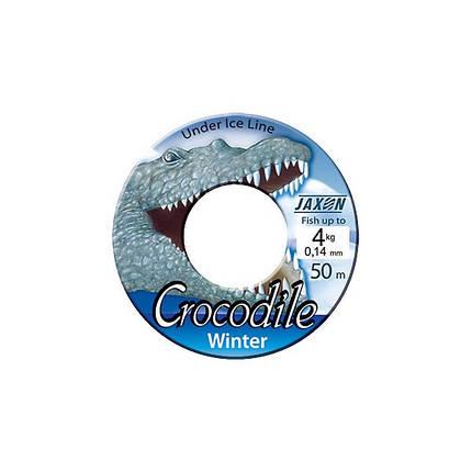 Леска Jaxon Crocodile Winter 50m 0,14, фото 2