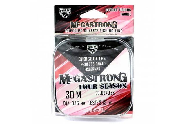 Леска Condor Megastrong Four Seasons 30m 0.16mm, фото 2