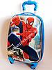 Детский чемодан дорожный Spider Man на четырех колесах 520201