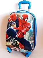 Детский чемодан дорожный Spider Man на четырех колесах 520201, фото 1