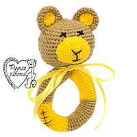 Брязкальце ведмедик жовтий