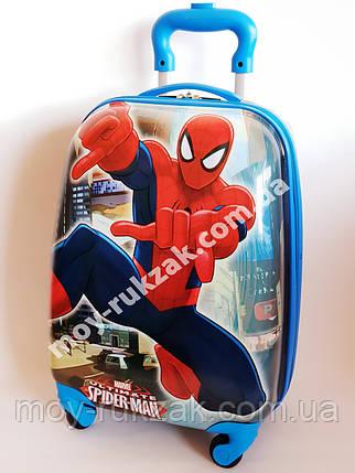 """Детский чемодан дорожный """"Josef Otten"""" Spider Man на колесах , фото 2"""