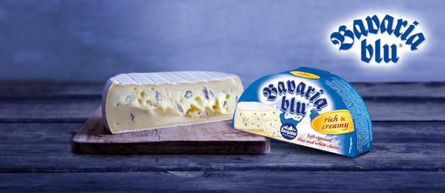 Мягкий сыр Bavaria Blu купить в Киеве, Мариуполе, Северодонецке, Одессе, Николаеве по лучшей цене