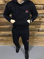 Мужской зимний темно-синий костюм Reebok, темно-синий костюм рибок, фото 1