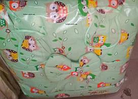 Комплект сменного постельного белья 8 в 1 Птички Бязь Жаккард