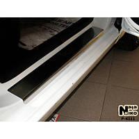 NataNiko Накладки на пороги для KIA Rio III '11- (Комплект 4 шт.) Standart, фото 1