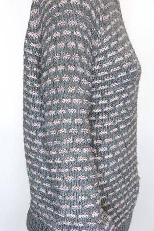 В'язаний жіночий джемпер з люрексом Papin, фото 2