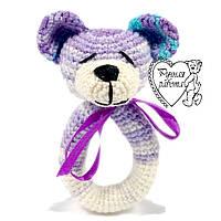 Брязкальце ведмедик фіолетовий