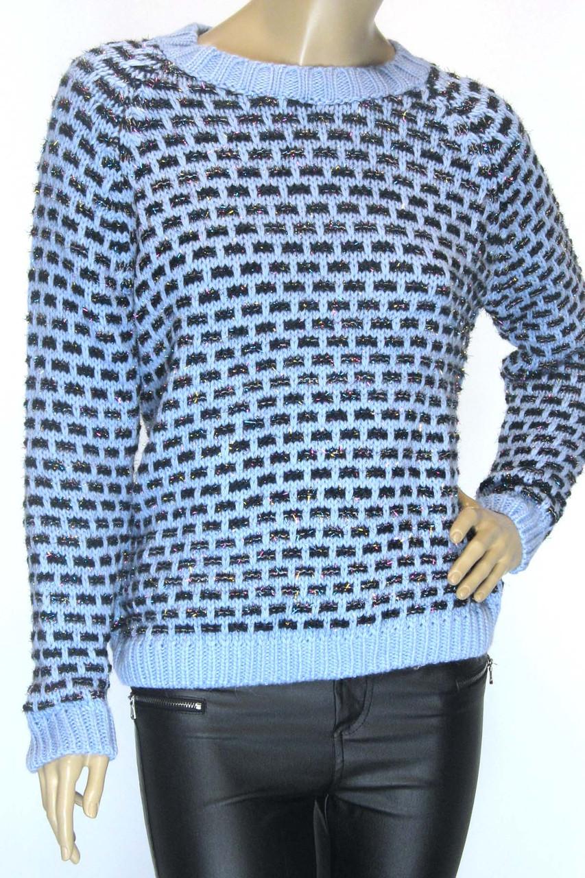 В'язаний жіночий светр з люрексом Papin