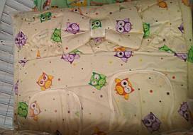 Детский постельный комплект 7 предметов Совята