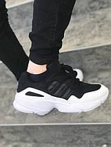 Мужские кроссовки adidas Yung 96 Black-white, фото 3