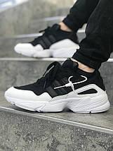 Мужские кроссовки adidas Yung 96 Black-white, фото 2