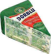 Сыр Dorblu Kaeserei мягкий с голубой плесенью (дор блю) 50%, 100 г.