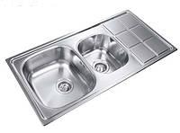 Кухонная мойка из нержавеющей стали LONGRAN LTP 1000.500 18 GT 8K полированная