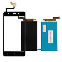 Дисплей (LCD) Blackview A8 с тачскрином black
