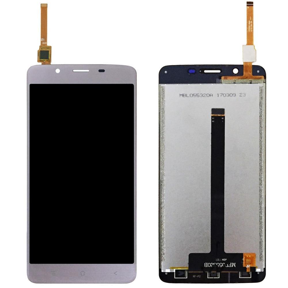 Дисплей (LCD) Blackview P2 с тачскрином серый