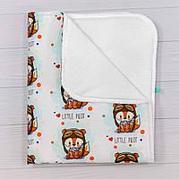 Непромокаемая пеленка BabySoon Лисенок пилот 70 х 80 см (0633) aae941a63f142