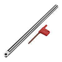 R6 250 мм Токарная обработка древесины Инструмент Токарная долото с круглым хвостовиком с режущей пластиной из карбида древесины - 1TopShop