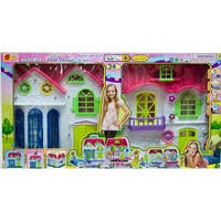 """Игровой набор 3351 """"Домик для куклы"""", 38 деталей, свет"""
