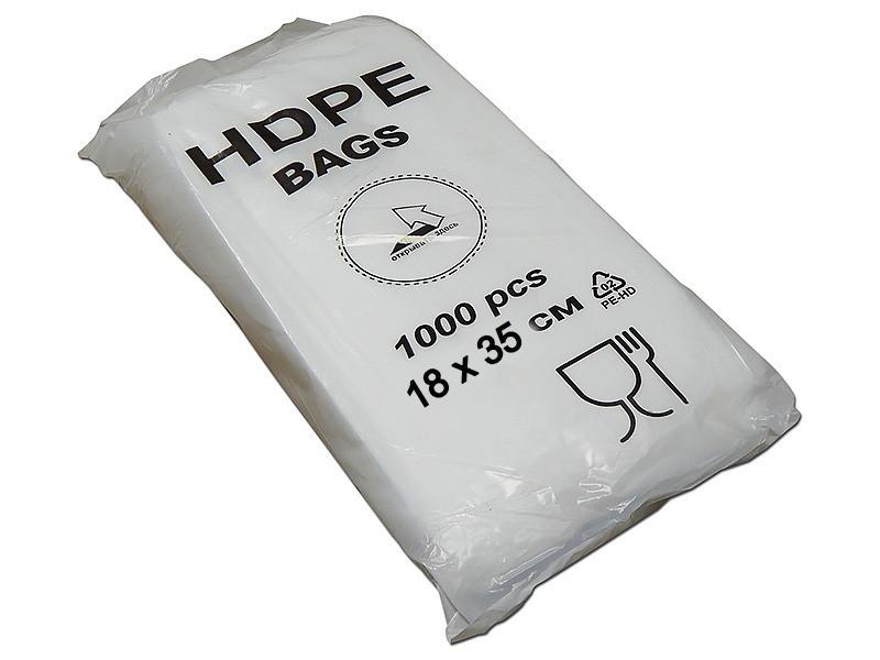Фасовочные пакеты 8 мкм - 18 × 35 (1000 шт)