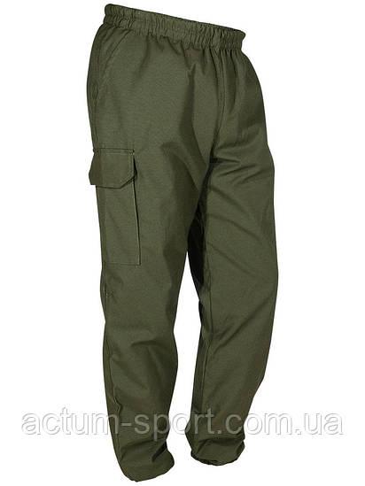 Утепленные мужские штаны на манжетах для охоты и рыбалки Olive оливковый камуфляж