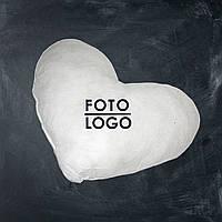 """Подушка плюшевая """"Сердце"""" с вашим фото"""