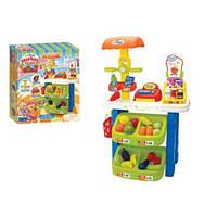 """Увлекательный игровой набор """"Мой первый супермаркет"""" магазин Market Stall Set 16655A"""