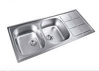 Кухонная мойка из нержавеющей стали LONGRAN LTP 1160.500 20 GT полированная