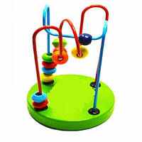 Деревянная игрушка Лабиринт на проволоке