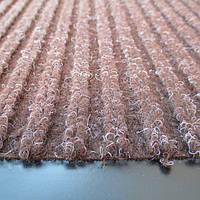 Грязезащитный коврик полипропиленовый на основе пвх коричневый,strip 120X180-brown