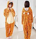 Пижама кигуруми Взрослые и Детские Тигр, фото 2
