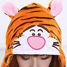 Пижама кигуруми Взрослые и Детские Тигр, фото 3