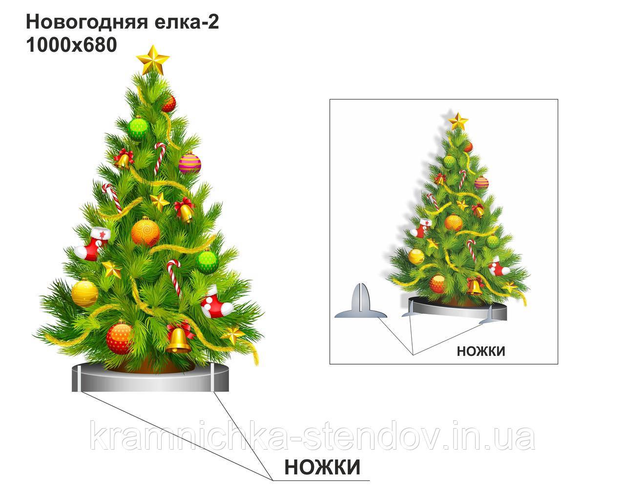 """Декорация:""""Новогодняя елка"""""""