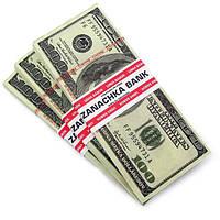 Пачка денег доллары