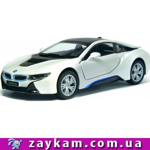 KINSMART KT5379W BMW I8 метал. инерц. об'явл. дв. 1:36 у коробці