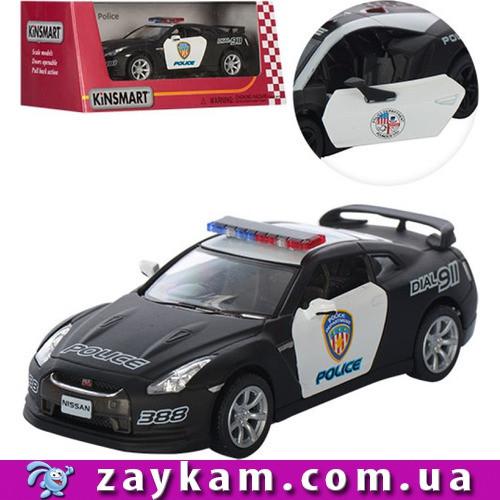 """Машина метал. """"Kinsmart"""" """"2009 Nissan GT-R R3"""" в коробці 16*8, 5*7, 5см"""