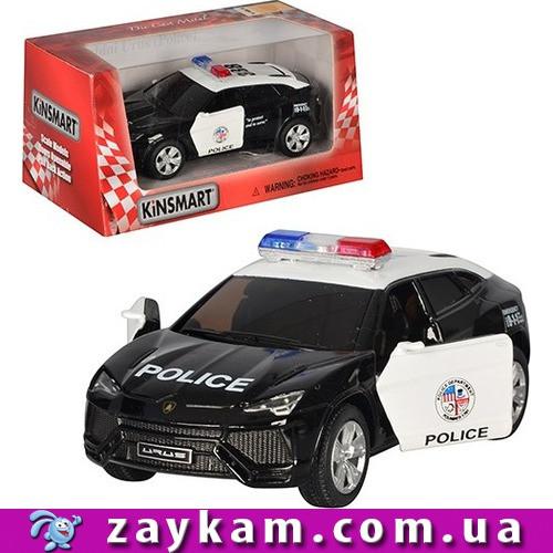 "Машина метал ""KINSMART"" KT5368WP ""Lamborghini Urus "", в коробці 16*8*7, 5см"