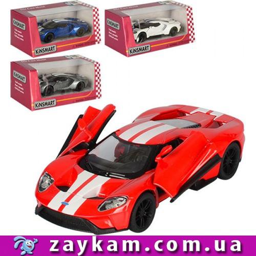 Машинка KT5391WF метал, інер-я, 1:38см, 12, 5см, об. дв, гумові колеса, 4цвета, в коробці, 16-7-8см