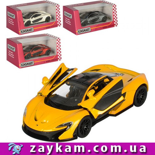 """Модель легковая 5"""" KT5393W McLaren P1 метал. инерц. открыв. дв. коробкеш. к. /96/"""
