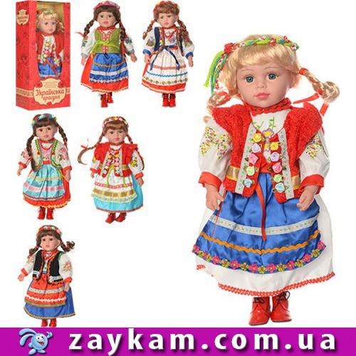 Лялька Українська красуня (Українська красуня), музика, співає пісню, на батарейці