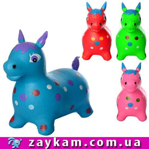 Стрибун конячка, 4цвета, в кульку, 33-22-7см