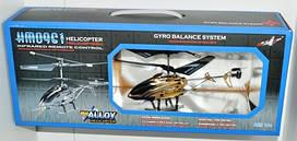 Радиоуправляемый вертолет M 0922 3-х канальный с гироскопом