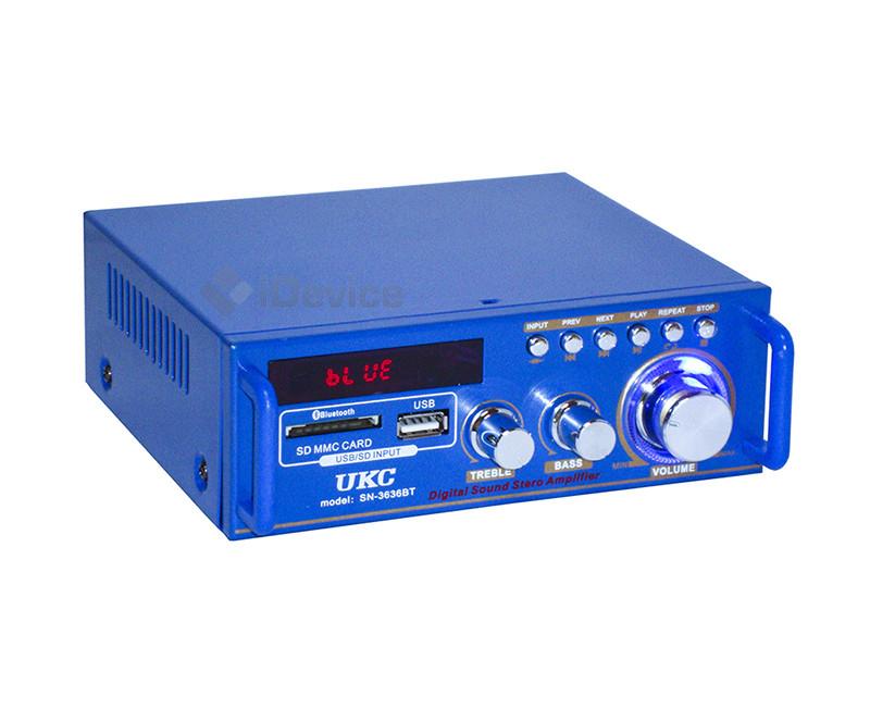 Усилитель звука UKC SN-3636BT USB, Bluetooth