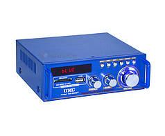 Усилитель звука UKC SN-3636BT для колонок с USB, Bluetooth
