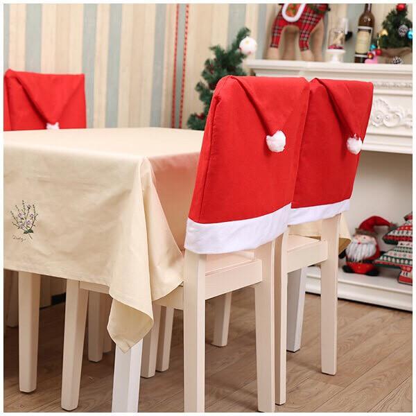 """Чехол на стул """"Шапка Santa-Claus"""", фото 1"""