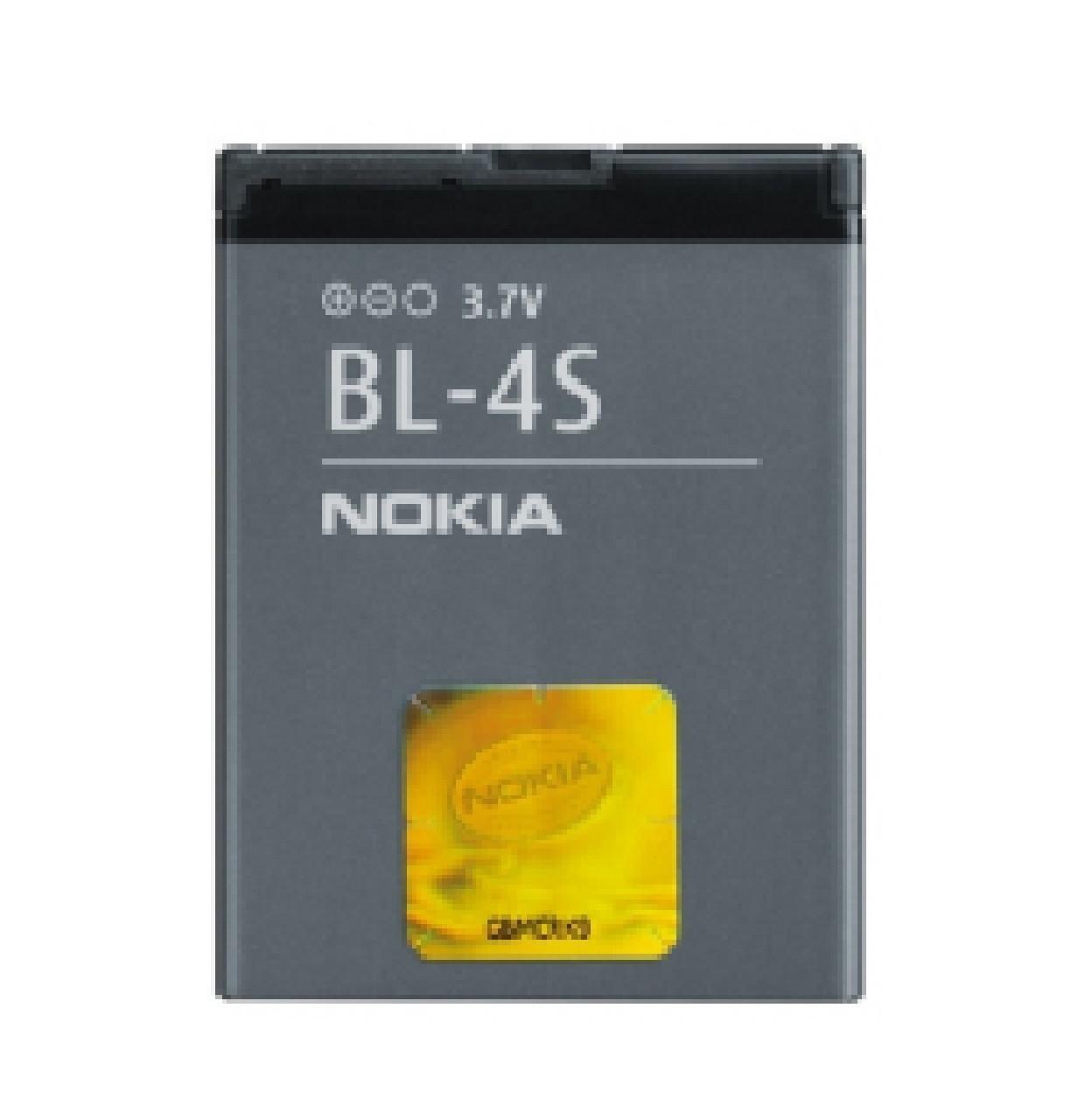 Аккумуляторная батарея AAAA Nokia BL-4S 860 mAh