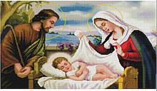 """Ф 7038.3 Набір для алмазної мозаїки 40х70 """"Святе Сімейство"""""""