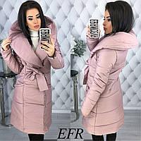 8d2f2e471ae Женская теплая зимняя куртка-пальто (утеплитель-синтепон 200)
